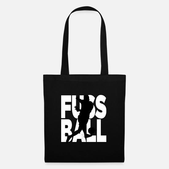 80c01e053244e9 Soccer Torby i plecaki - piłka nożna - Torba z tkaniny czarny
