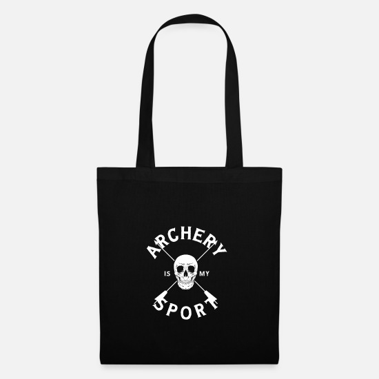 Archery Bags & Backpacks - archery - Tote Bag black