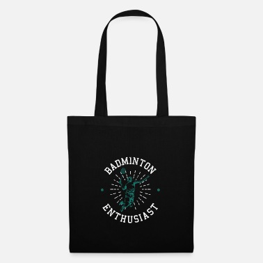 Rally badminton - Tote Bag
