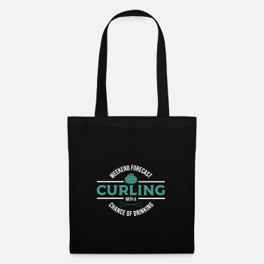Drinking Curling gift - Tote Bag
