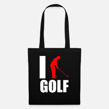 Utslag Golf Caddy Putter Love Love Gift - Tygväska