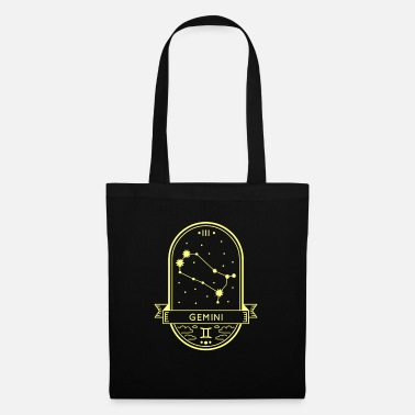 Horoscope Horoscope de la constellation du zodiaque Gemini Gemini - Sac en tissu