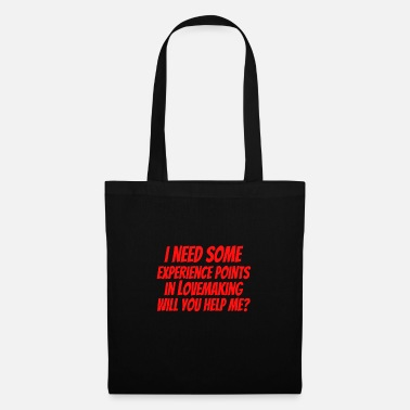 Fps Gaming / Gamer Experience Points in Lovemaking - Tote Bag