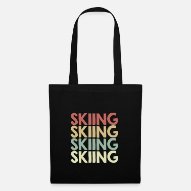 Ski For skiing - Tote Bag
