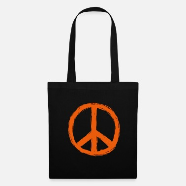 Hippie Peace World Peace Flower Power Gift 70s Love - Tote Bag