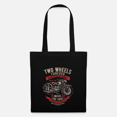Two-wheeled Two Wheels Forever - Tote Bag