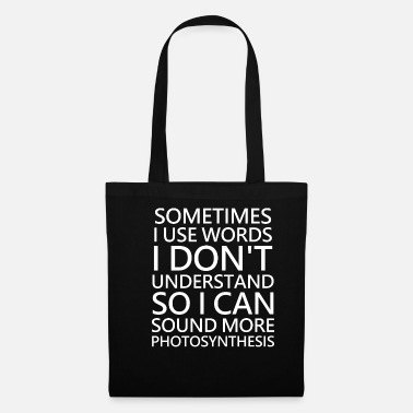 Foreign Word Foreign words Intelligent IQ - Tote Bag
