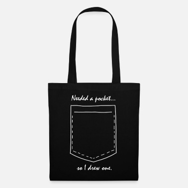 Pocket Shirt pocket drawing side pocket chest pocket - Tote Bag