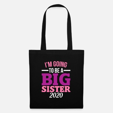 Greater I'm going to be Big Sister siblings - Tote Bag