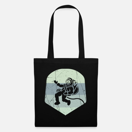 Gift Idea Bags & Backpacks - Astronaut - Design - Tote Bag black