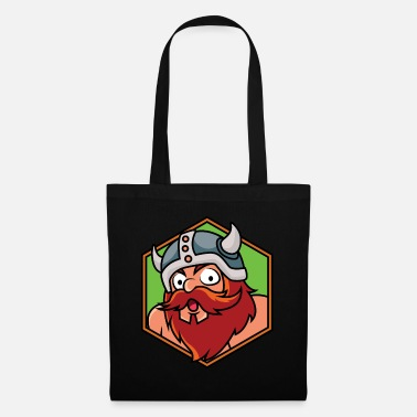 Tribe Funny viking surprise - design - Tote Bag