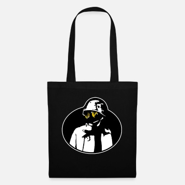 Nuclear Pandemic Gas Mask - Soldier Apocalypse T-Shirt. - Tote Bag