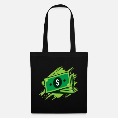 Wealthy Banknotes Gift, banknote money finances rich - Tote Bag