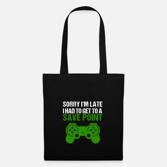 Life Force Bags & Backpacks - Late Sharepoint Online Gaming Gamers Gamer PC - Tote Bag black