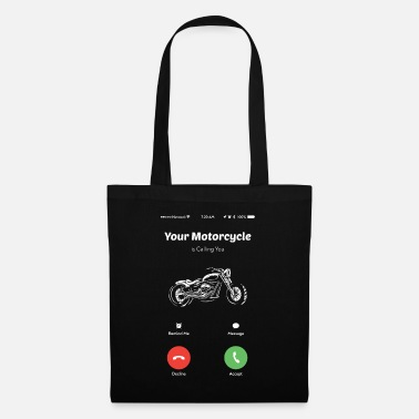 Race Car Your motorcycle calls you motorcycle riders motorcycle rides - Tote Bag