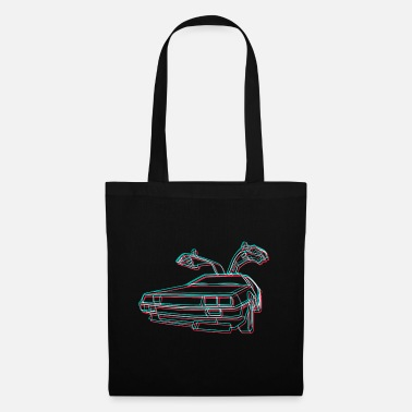 Delorean Neofuturist Delorean - Tote Bag