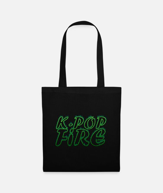 Army Bags & Backpacks - K-Pop Fire - Tote Bag black