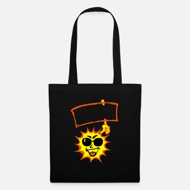 Sun Signs sun sun sign bezel add text - Tote Bag
