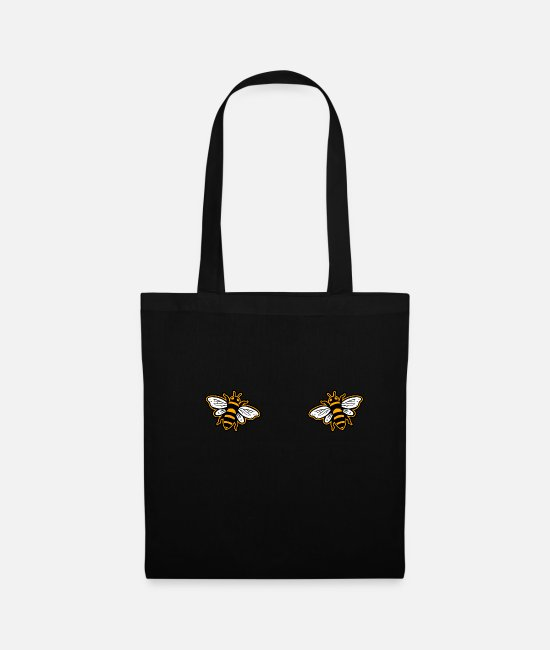 Honey Bags & Backpacks - Bee BH - Tote Bag black
