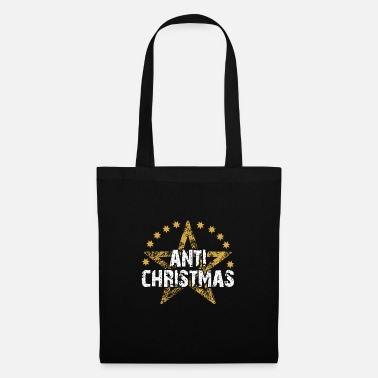 Ugly Christmas Anti Christmas Ugly Christmas Design - Borsa di stoffa
