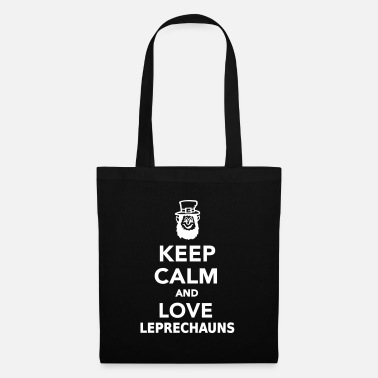 Ireland Keep calm and love Leprechauns - Tote Bag