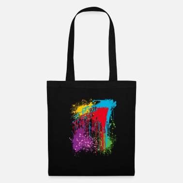 Colorful Colors, bright colors, colorful - Tote Bag
