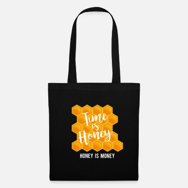 Honey Time is honey honey is money beekeeper t-shirt - Tote Bag