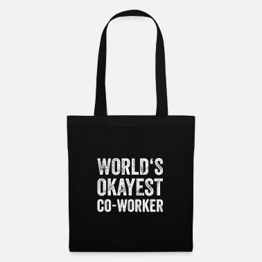 Colleague Funny gift colleague colleague colleagues work - Tote Bag