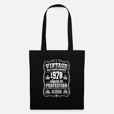 Myth 1978 Vintage 40th Birthday gift 40 years old - Tote Bag