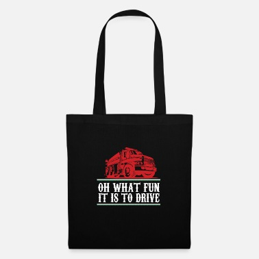 Fighter Jet Oh what fun it is to drive - premium design - Tote Bag