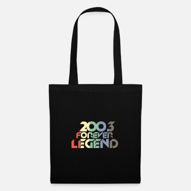 Retro Style Vintage 2003 03rd birthday retro vintage gift - Tote Bag