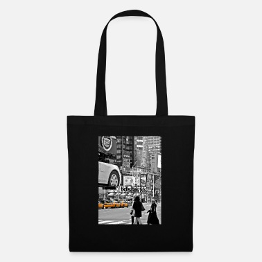 New York NYC Yellow Cabs T-Square - Tote Bag