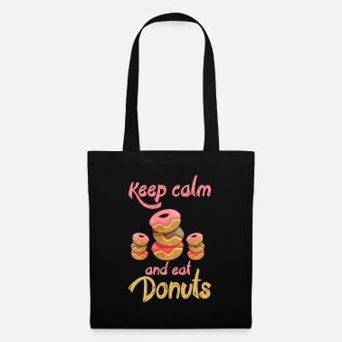 Confiserie Keep Calm - Eat Donuts - EN - Tote Bag
