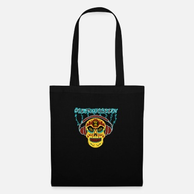 #GetPluggedIn Day of the Dead tee - Tote Bag