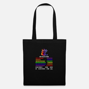 Fight against inequality! Intersectional veganism - Tote Bag