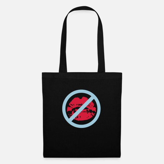 Lips Bags & Backpacks - kussmund_112011_e_2c_kopie - Tote Bag black