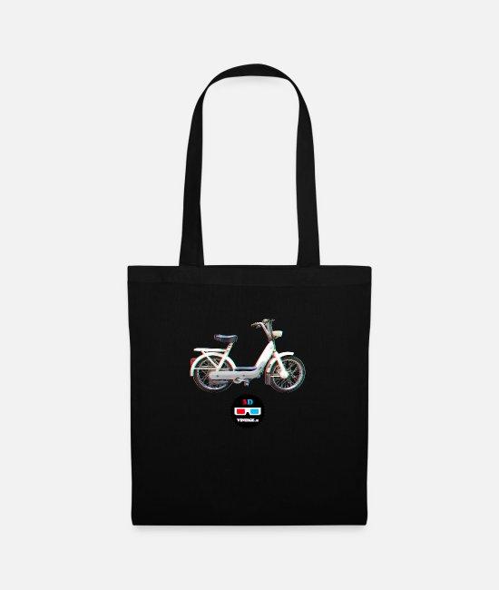 3D Bags & Backpacks - Vintage - Ciao 3D - Tote Bag black