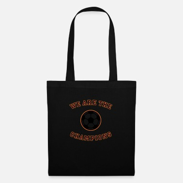 Schland We are the champions (black - red - gold) - Tote Bag