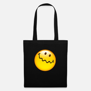 Uncertain Smiley Glossy Uncertain - Tote Bag
