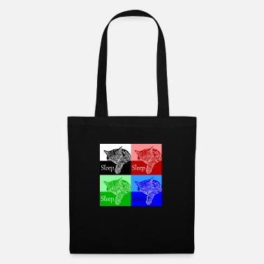 Sleep Sleep - Sleep - Sleep - Repeat - Tote Bag