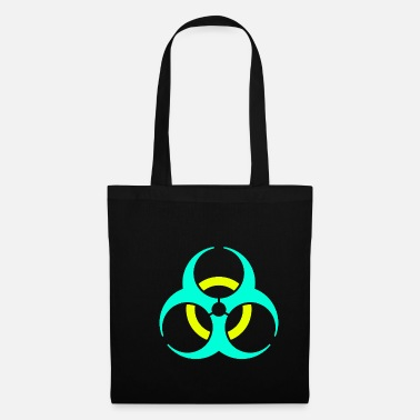Virus Biohazard virus disease organic symbol sign gift - Tote Bag