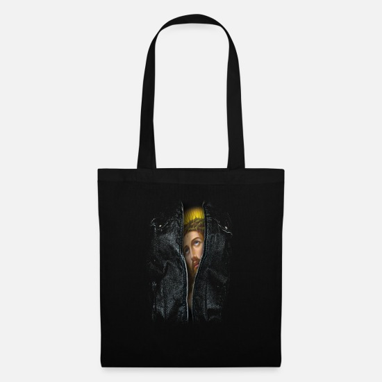 Christ Bags & Backpacks - under skin - Tote Bag black