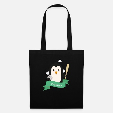 Baseball Baseball Penguin from ARGENTINA Gift - Tote Bag