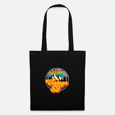 1959 Vintage 1969 60th birthday gifts for women and - Tote Bag