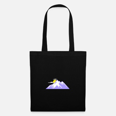 Alps Mountain mountains mountaineering hiking gift - Tote Bag