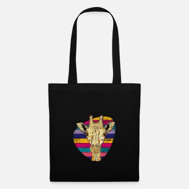 Safari Retro giraffe - Tote Bag