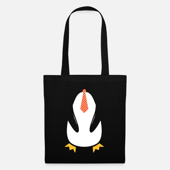 Carnival Bags & Backpacks - Pinguin Tie Costume - Tote Bag black