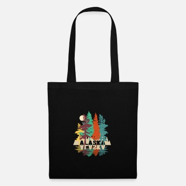 Hunting Alaska forest wild nature - Tote Bag