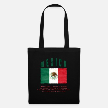 Bandera Mexican Flag Bandera Mexico - Tote Bag