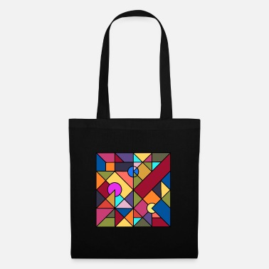 Abstract cubic pattern - Tote Bag
